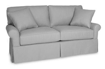 Wilton Skirted Loveseat Sofa Cabin Furniture Hudson Sofa