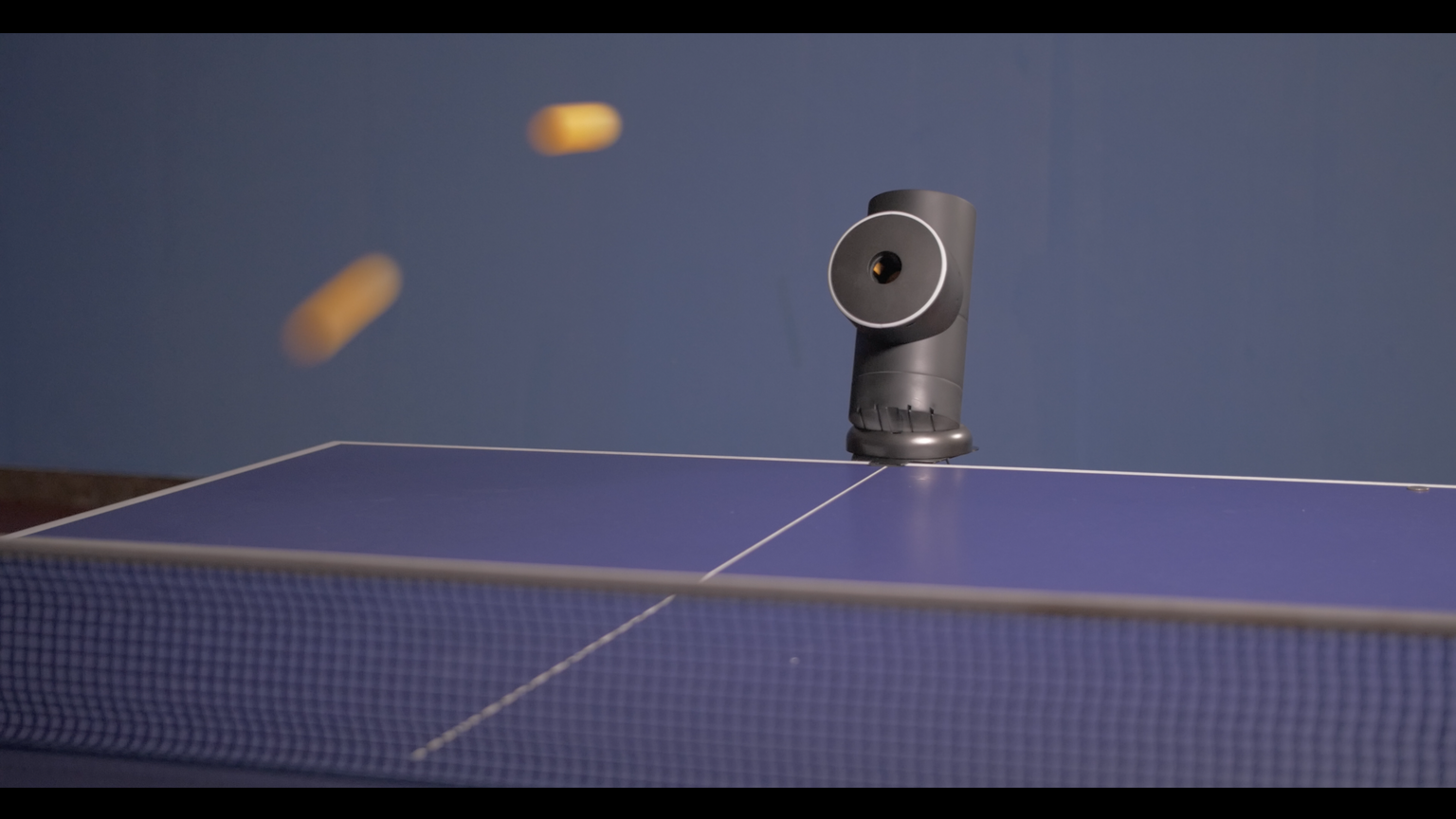 Trainerbot Anytime Anywhere Table Tennis Partner Gadget Kickstarter Table Tennis Rubber Ping Pong Table Tennis