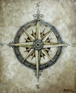 Compass May Get This One Compass Art Compass Tattoo Nautical Compass Tattoo