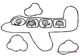 Imagenes De Aviones Para Colorear Buscar Con Google