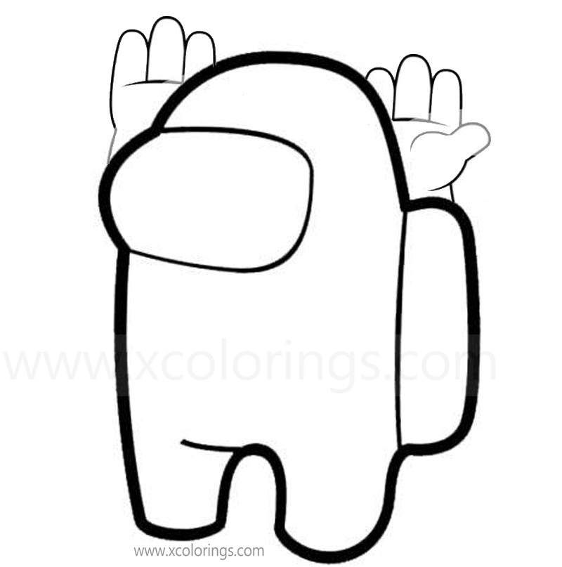 Among Us Coloring Page Halloween Costumes Skins Hats Xcolorings Com Coloring Pages Free Coloring Pages Color