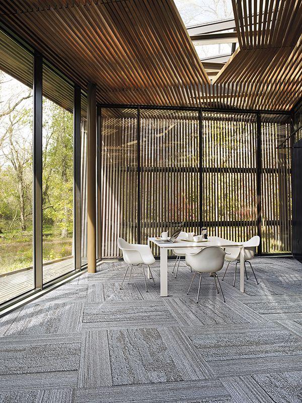 Interface Modular Carpet Tile Near Far Nf400 Felt Nf401