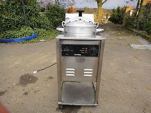 """KUROMA """"Industrial Chicken Pressure Fryer """" Pressure"""