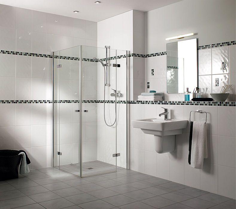 Idée carrelage salle de bain Salle de bain Pinterest Modern - photo faience salle de bain