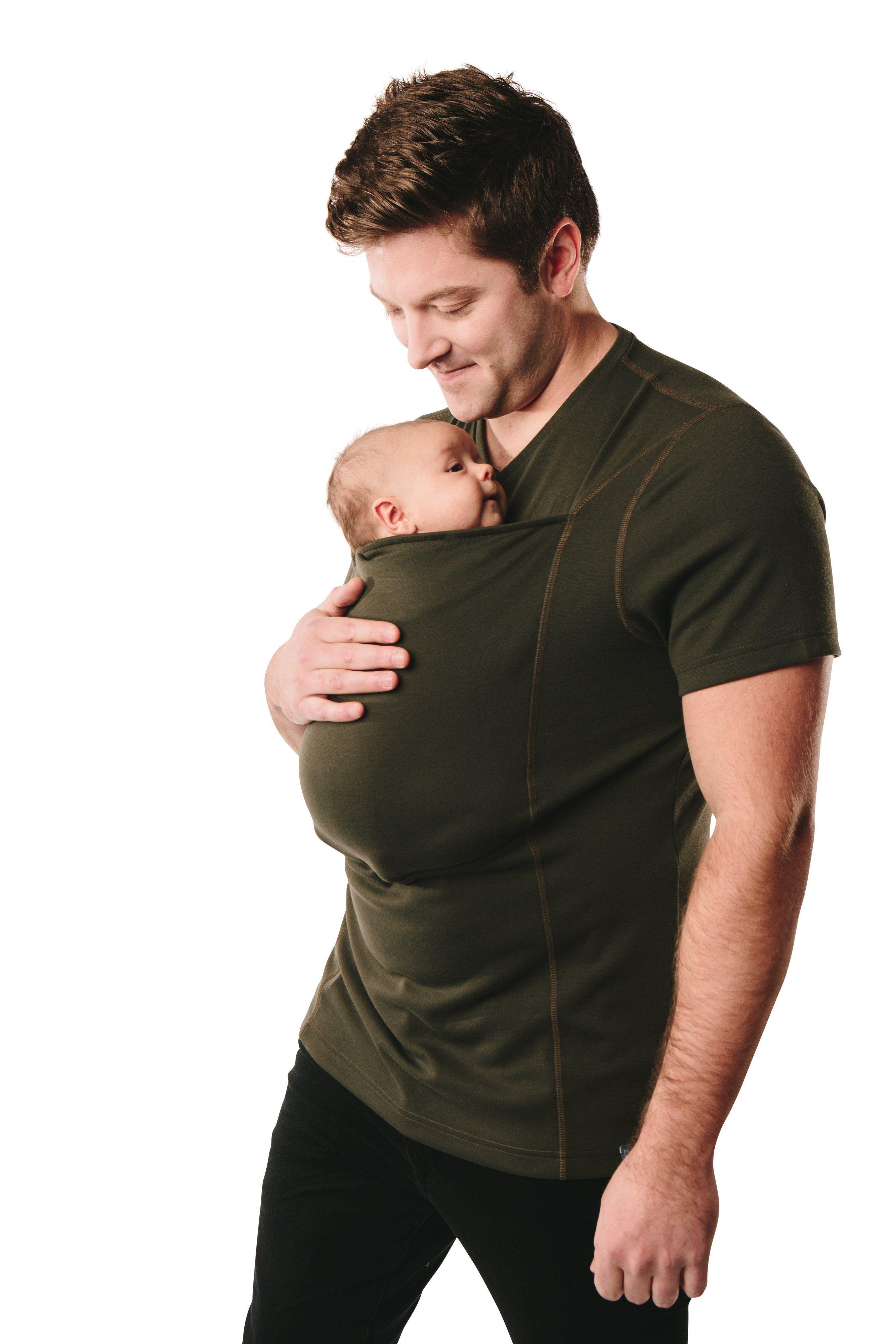 179f7773a50 Multifunctional Women Baby Carrier Kangaroo Soothe T Shirts Men Daddy Baby  T Shirt. Dad Babywearing Shirt - Project Nursery