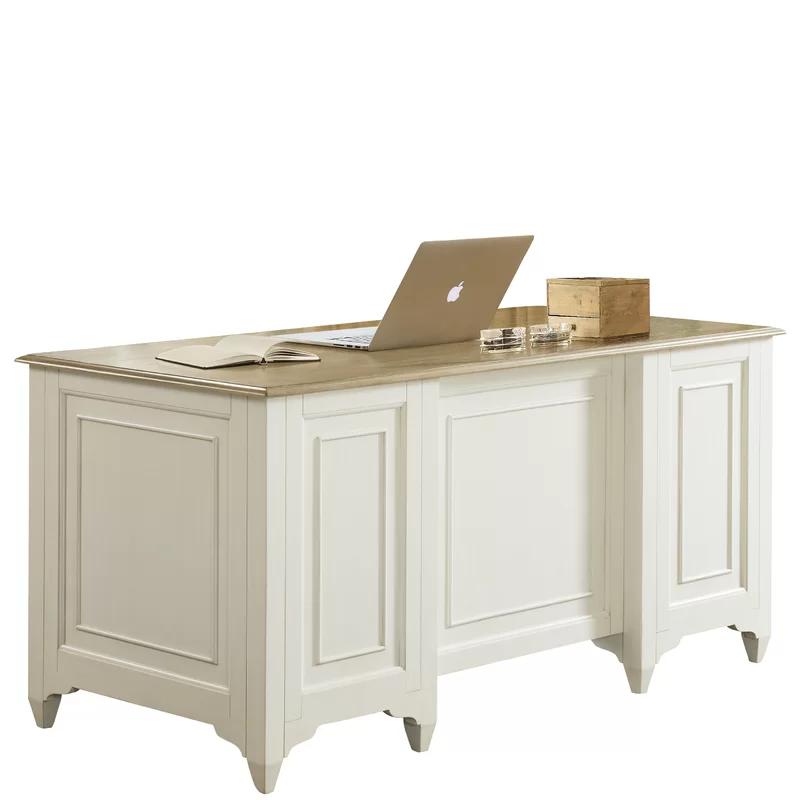 Afton Charlena Executive Desk Furniture Grey Office Furniture Space Saving Furniture