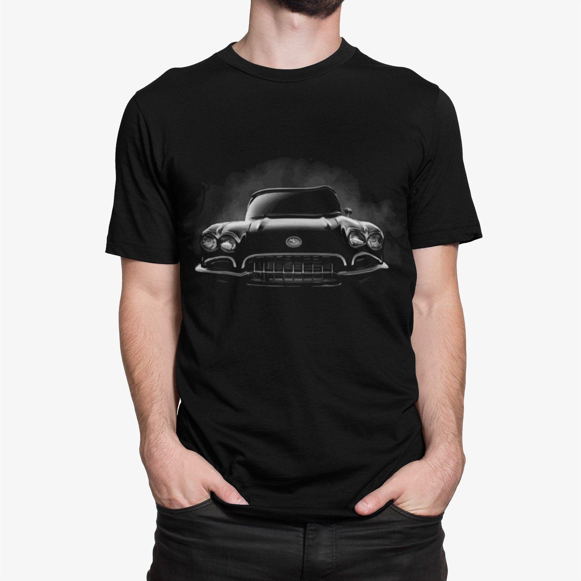 1959 Corvette Classic Car Short-Sleeve Unisex T-Shirt