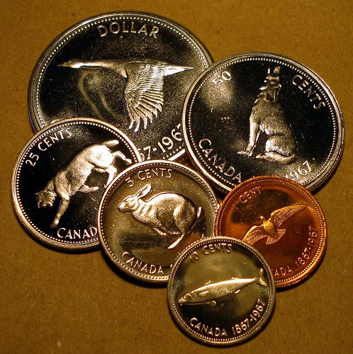 1967 Canadian coins    Day 67 | International coins,currency