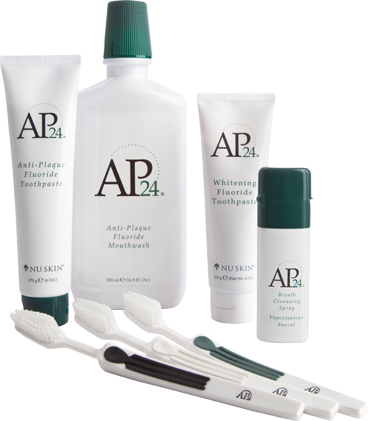 Ap 24 Oral Care System Includes Fluoride Toothpaste