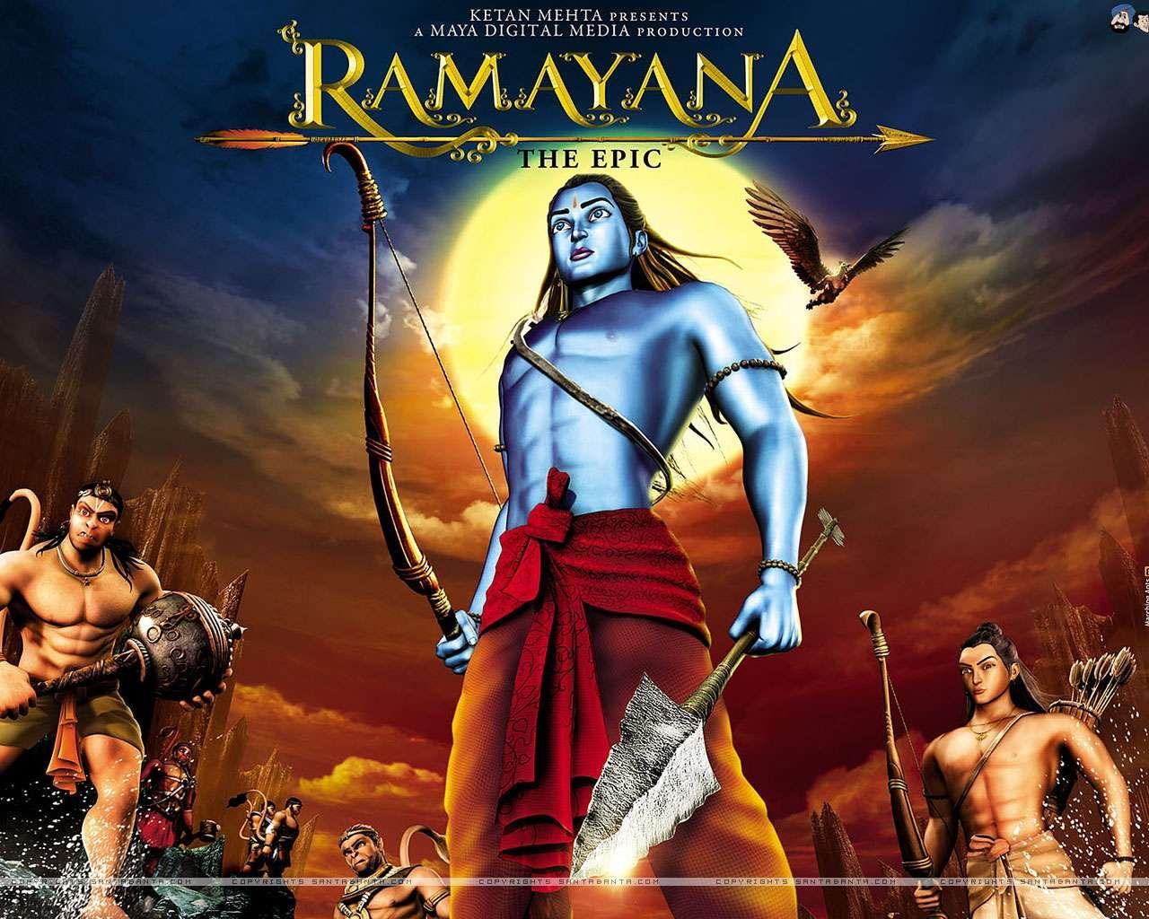 Ramayana Hindi film, Mythology, Animation