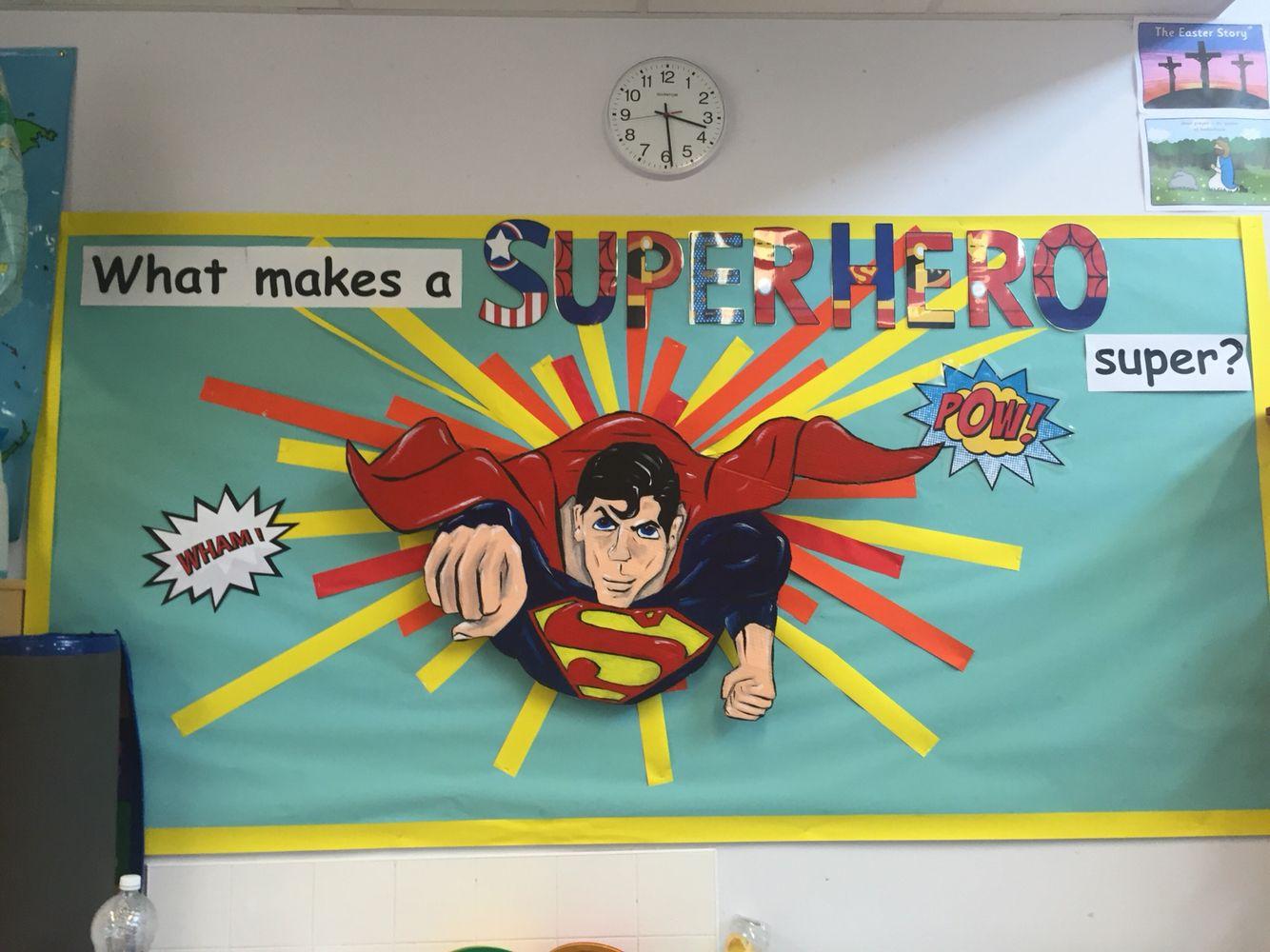 Superhero Theme Ks1 Primary School Topic Heroes What