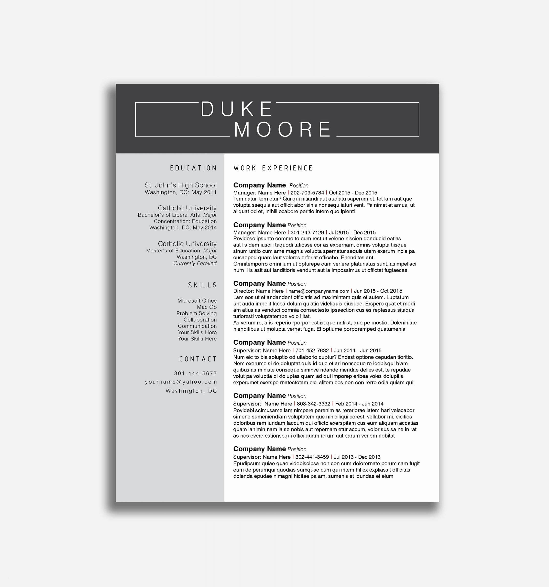 Free Resume Builder Reddit Awesome Free Background Music Mallerstang In 2020 Resume Template Free Project Manager Resume Resume Template Examples
