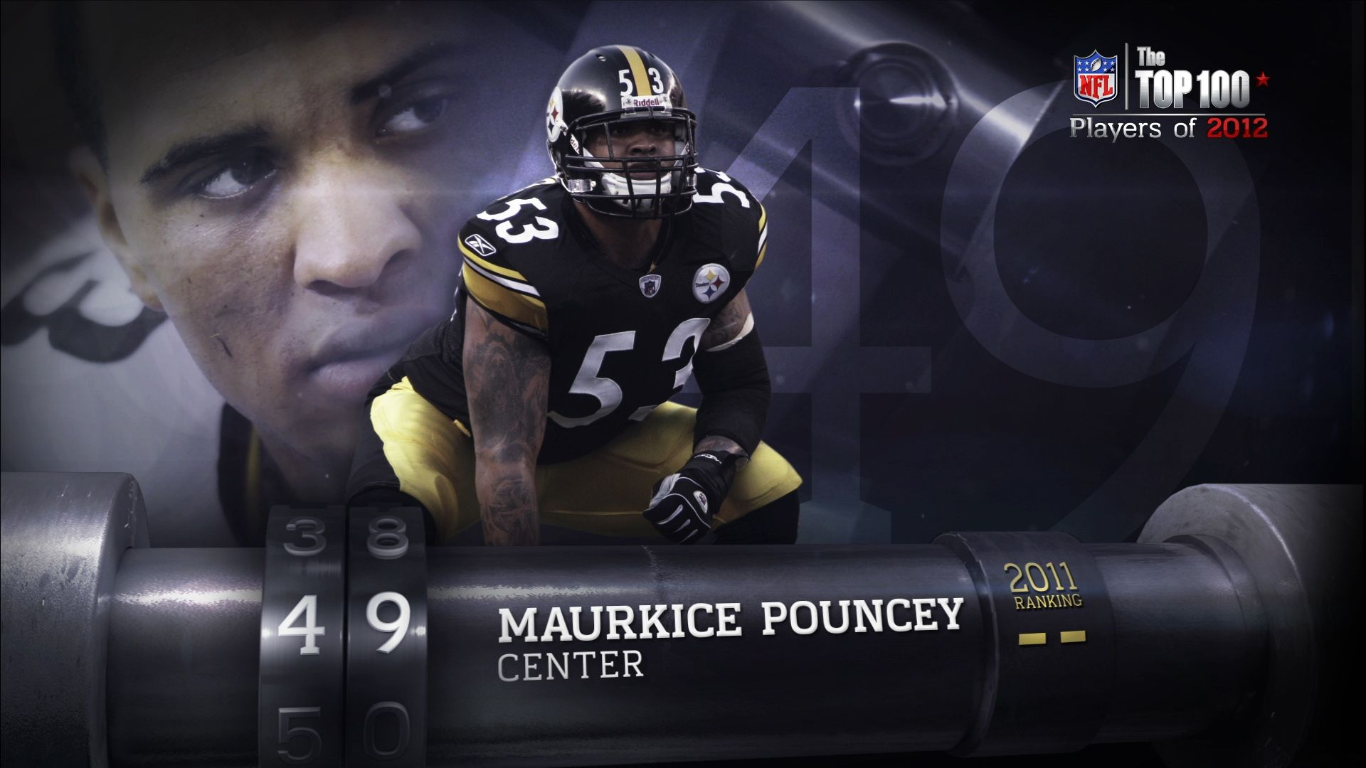 #49 - Maurkice Pouncey, Pittsburgh Steelers