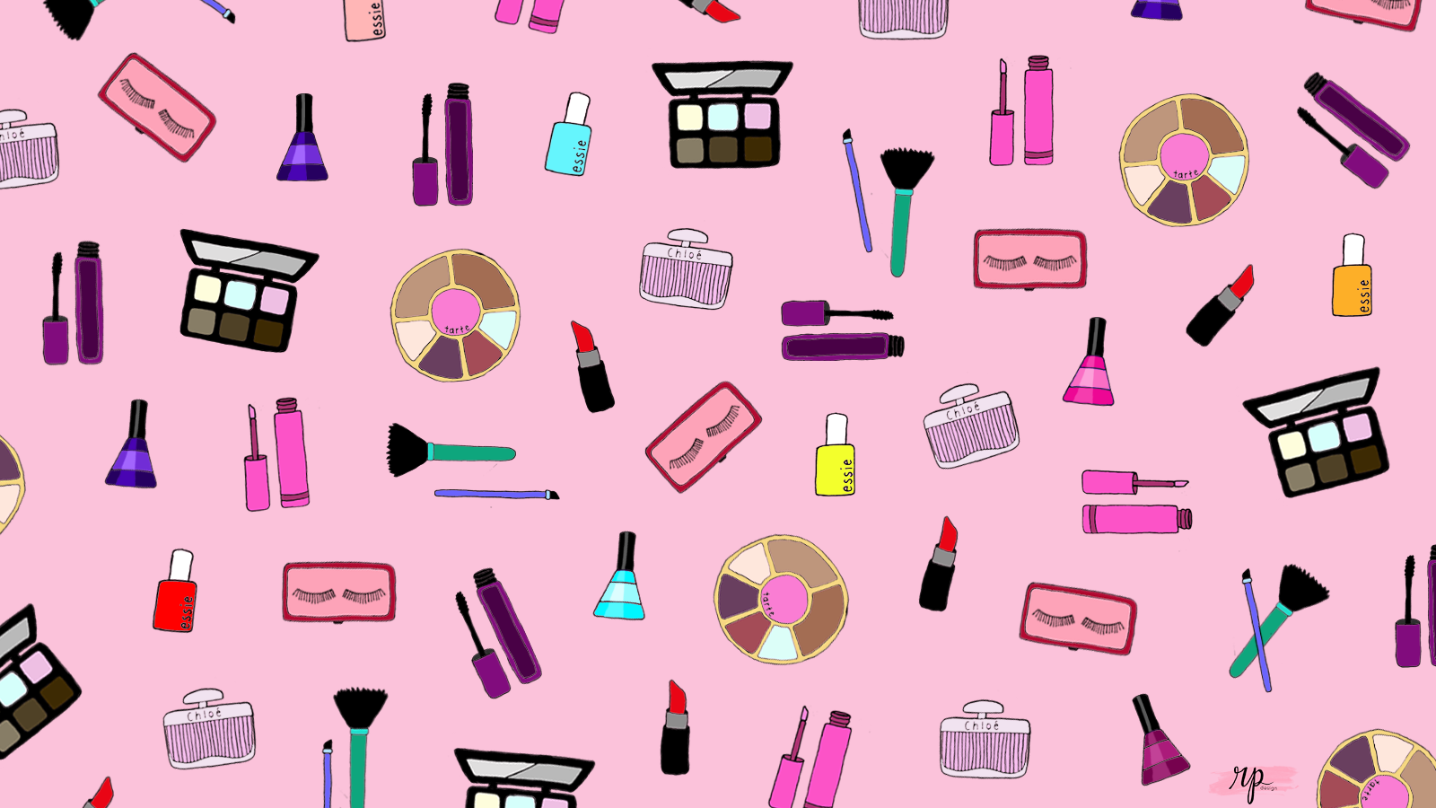 Free Downloadable Makeup Wallpaper (RP Design) Makeup