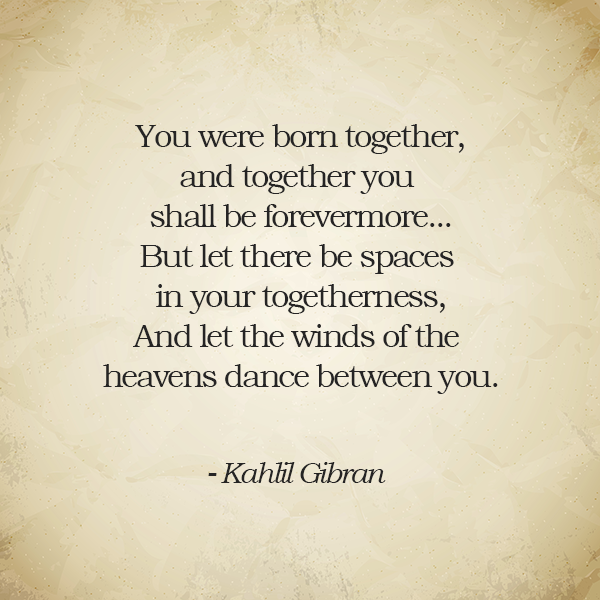 On Marriage Kahlil Gibran Love Psalm 96