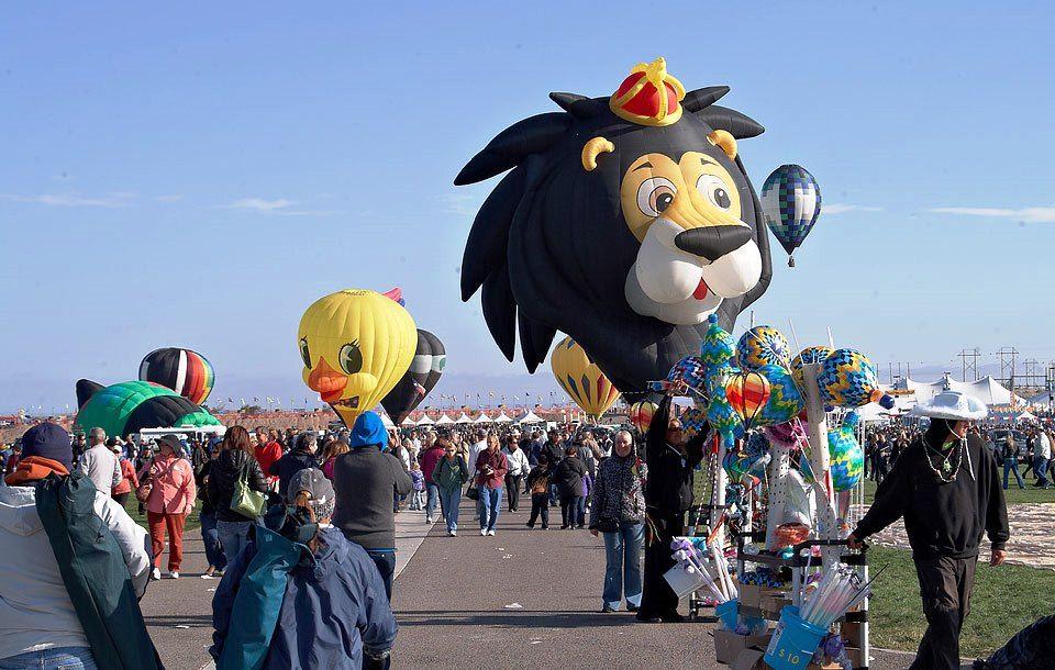 Albuquerque Annual Balloon Fiesta...
