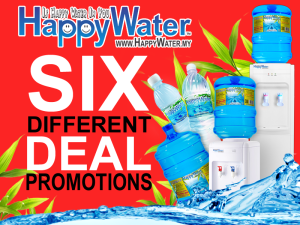 Happy Water Delivery Promotions For Home And Office Water Delivery Water Malaysia