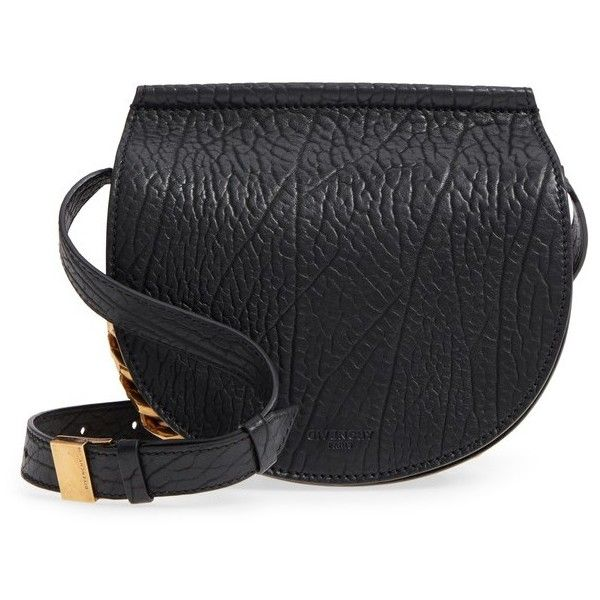 fa12c112fb Women s Givenchy Infinity Calfskin Leather Saddle Bag (£1