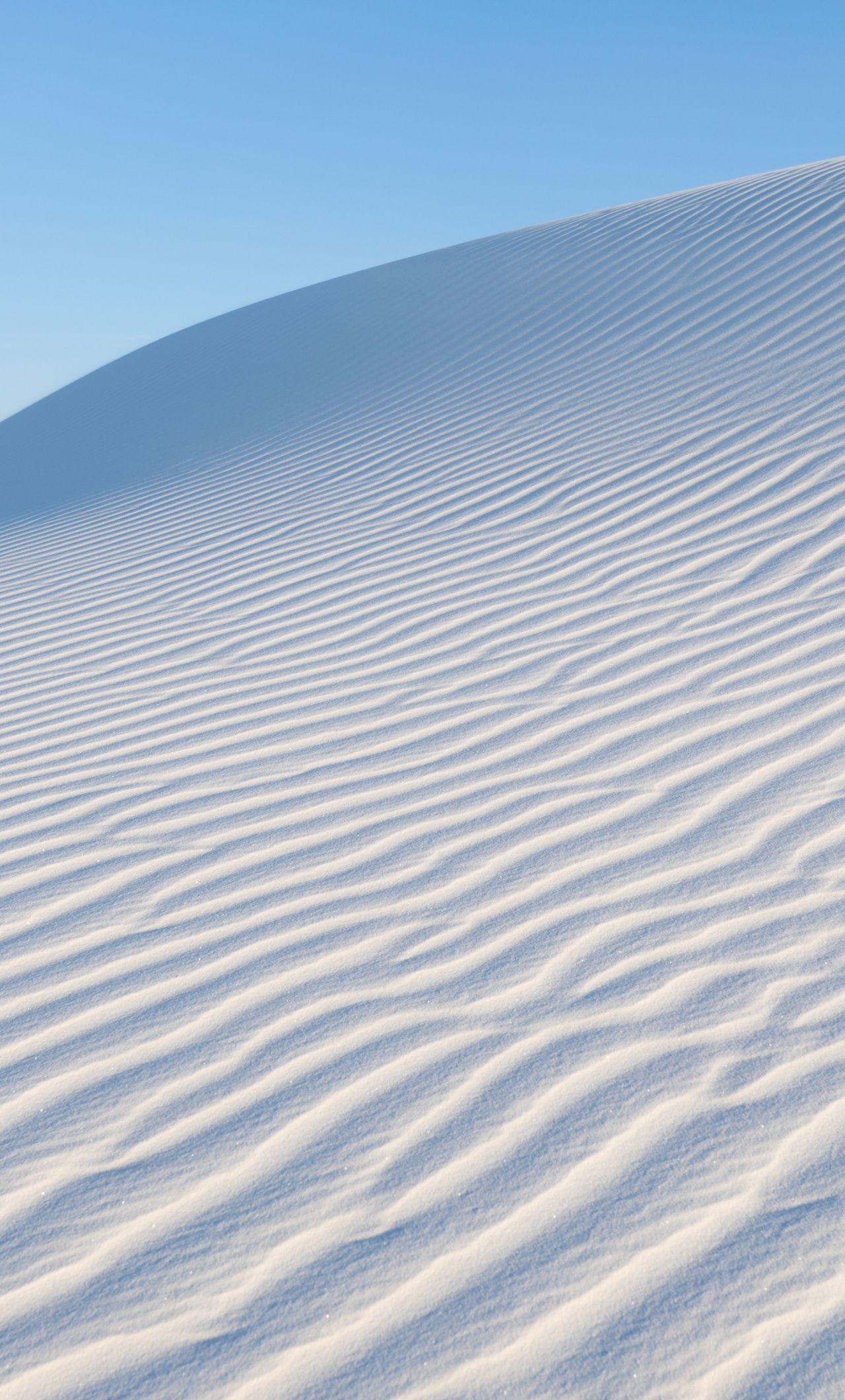White Sand Desert Nature Texture Landscape 1280x2120 Wallpaper Wallpaper Free Hd Wallpapers Beautiful Wallpapers
