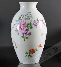 Augarten Wien Porzellan Vase 28,5 cm**
