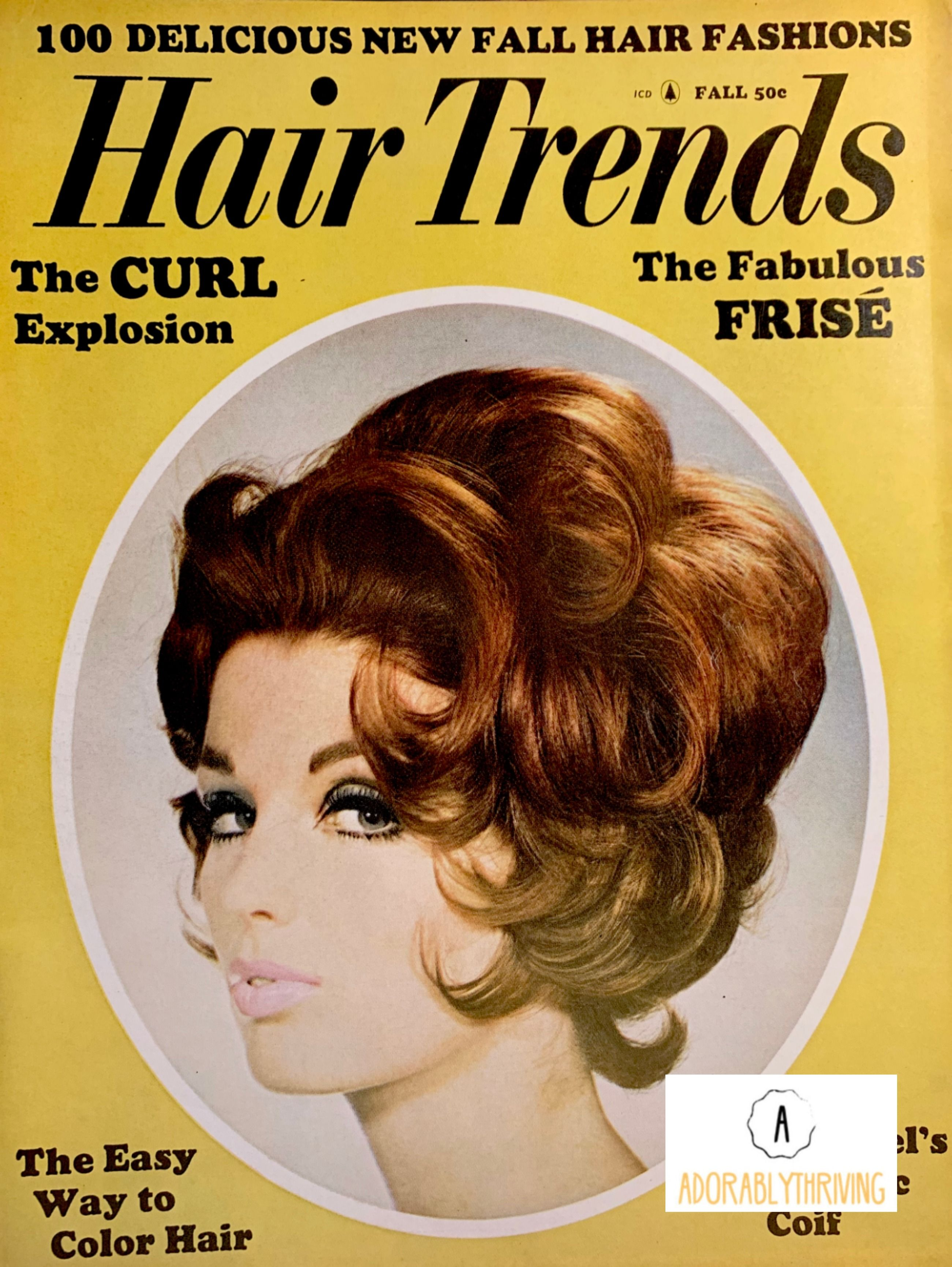 1960 S And 1970 S Vintage Hair Magazines Hair Trends Etsy In 2020 Hair Magazine Vintage Hairstyles Hair
