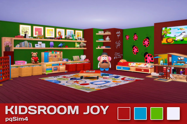 Sims 4. Kids Room Joy. imagens) Sims 4, Sims, Sims