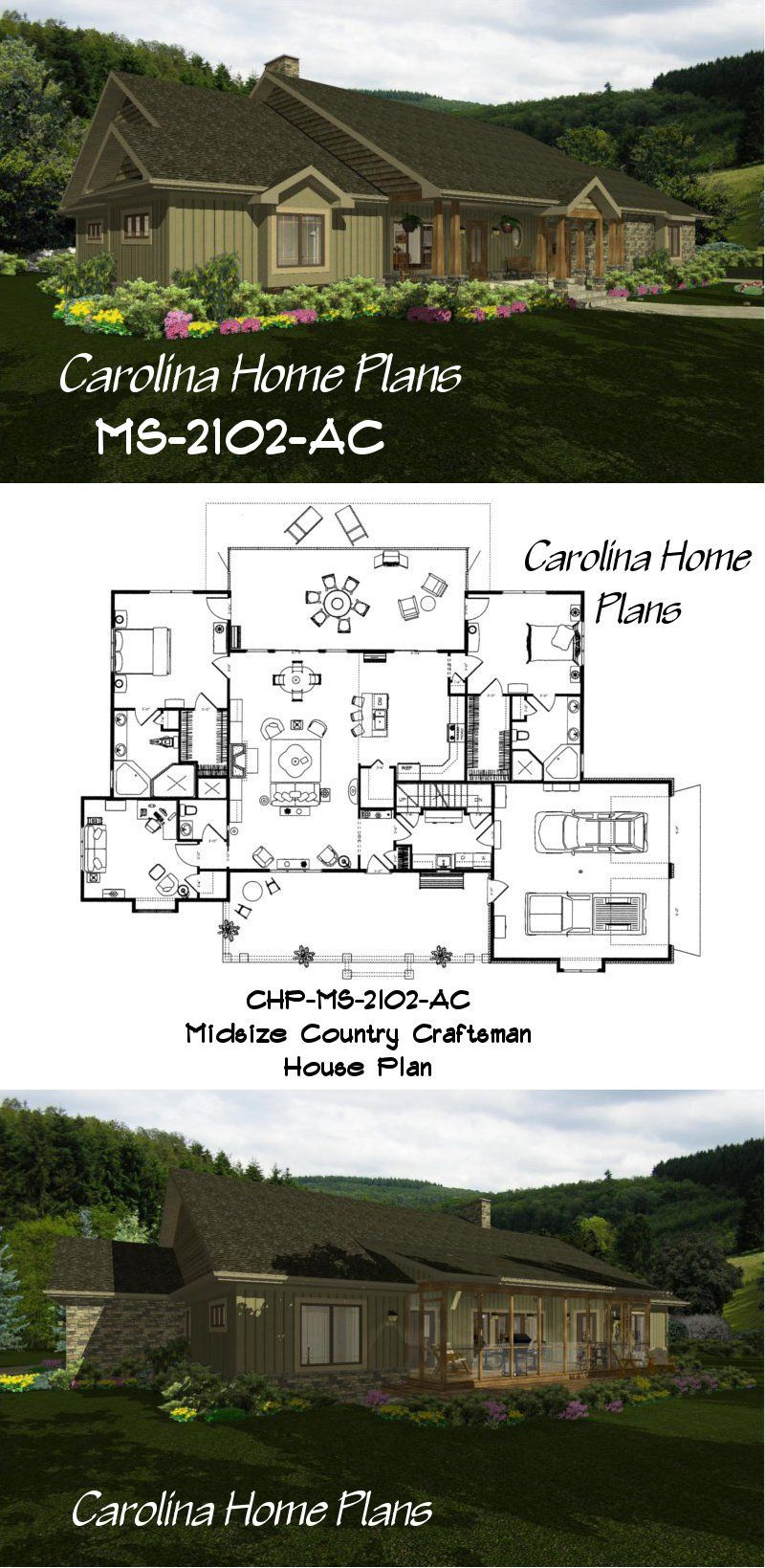 Choose your floor plans with the help of 3d views  Carolina Home     Choose your floor plans with the help of 3d views  Carolina Home Plans has  3d