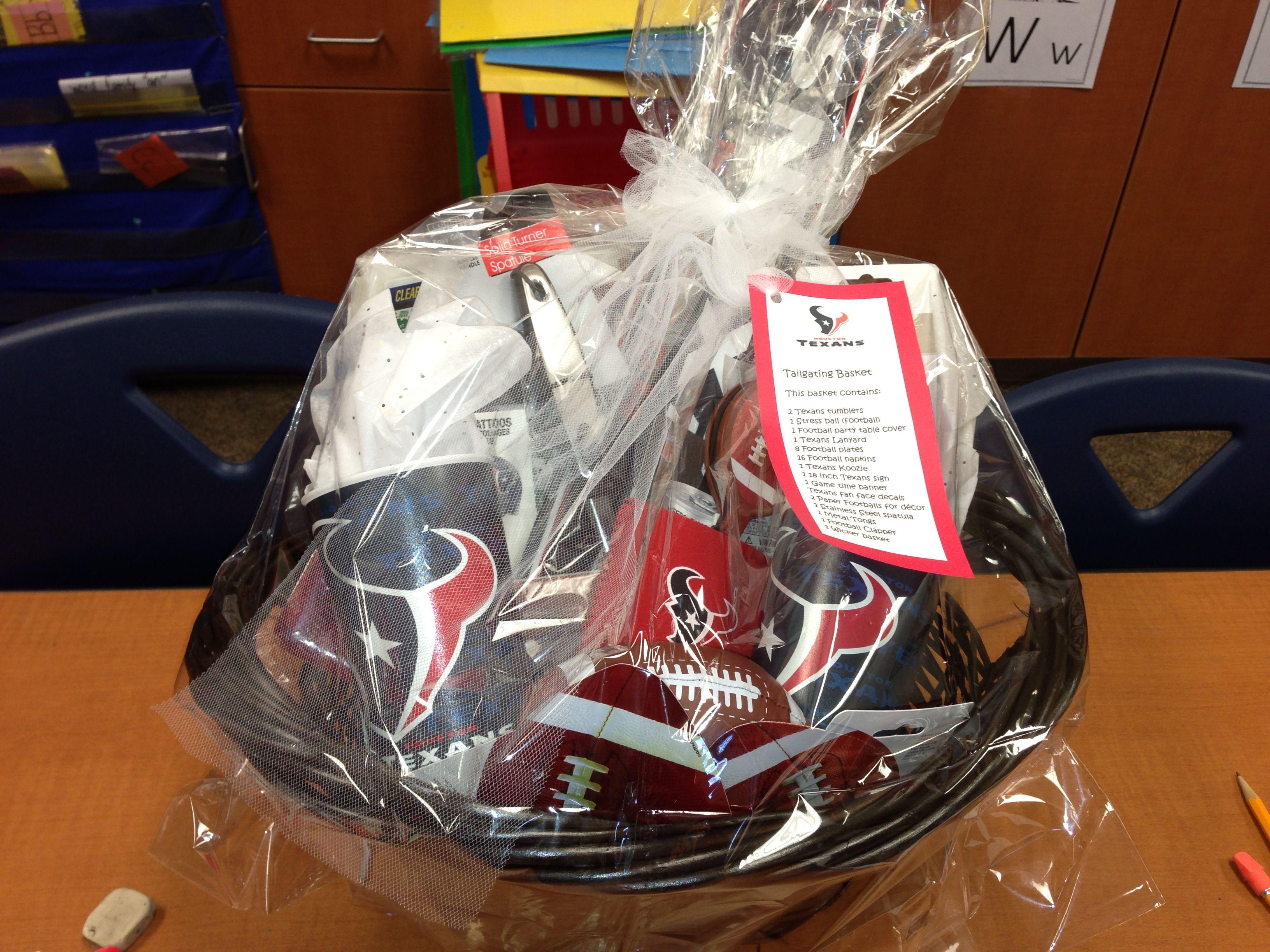 44 best gift baskets images on pinterest gift basket ideas texans gift basket under 35 negle Gallery