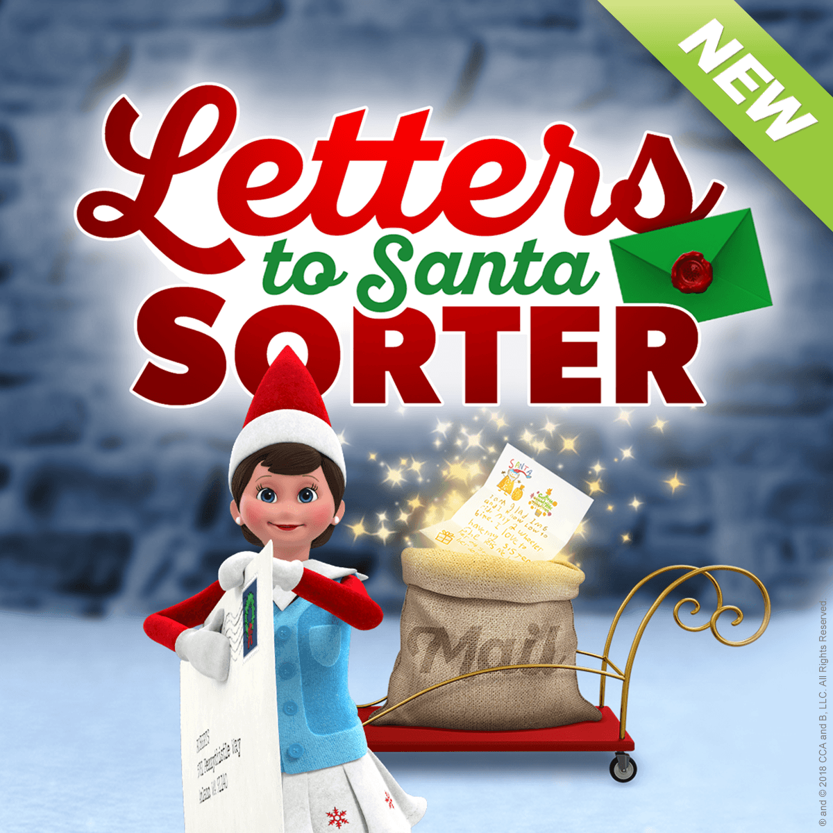 Letters To Santa Sorter Santa letter, Elf on the shelf, Elf