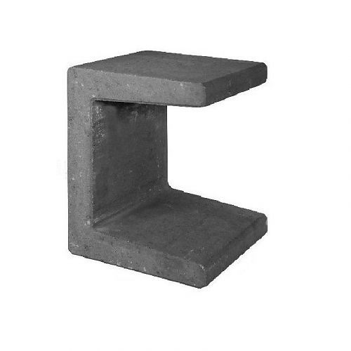 U beton element 50cm antraciet | Nice | Pinterest
