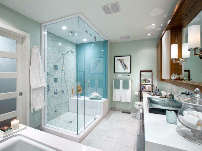 Badezimmer Muster ~ Muster badezimmer mit duschkabine einmaliges badezimmer