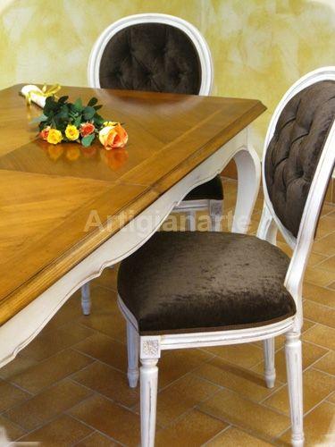 Sedia Luigi XVI » Artigianarte decorazioni e mobili colorati in ...