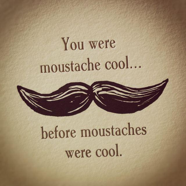 Moustache Cool