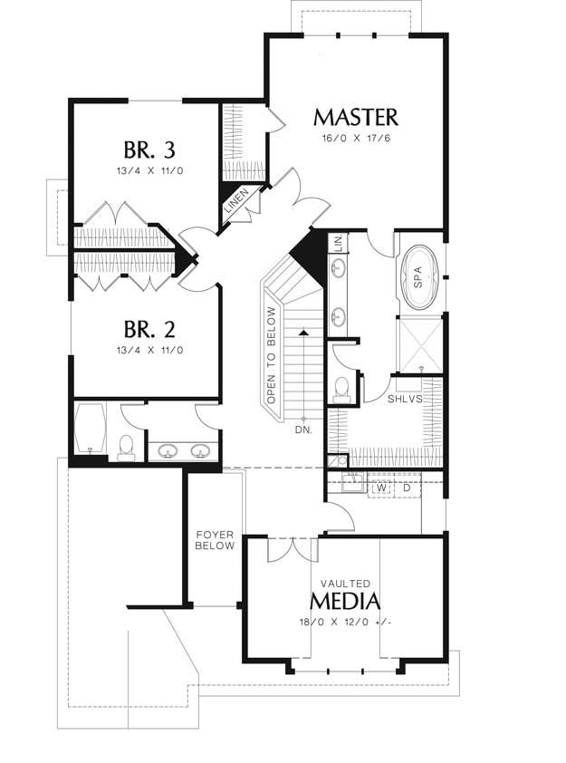 Attractive Craftsman House Plan #441285 | Ultimate Home Plans Nice Look