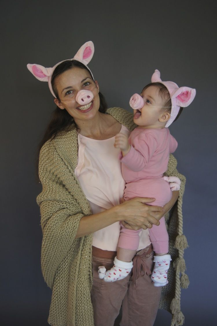 Pigs in a blanket costume. Great mommy and me costume for baby's ...