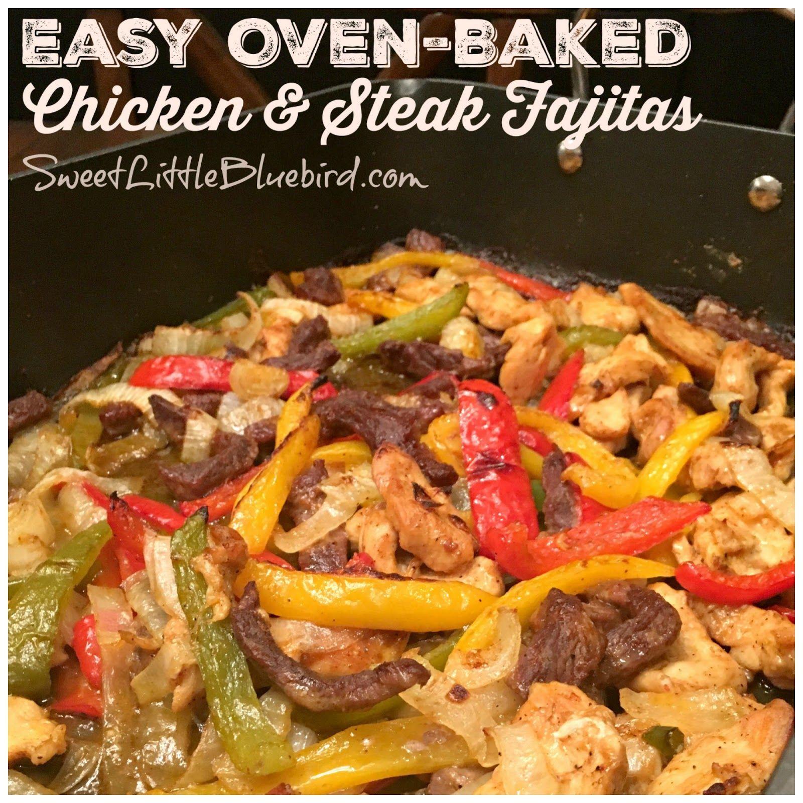 Chicken Fajitas Lettuce Wraps Oven Baked! Little Broken #beeffajitarecipe