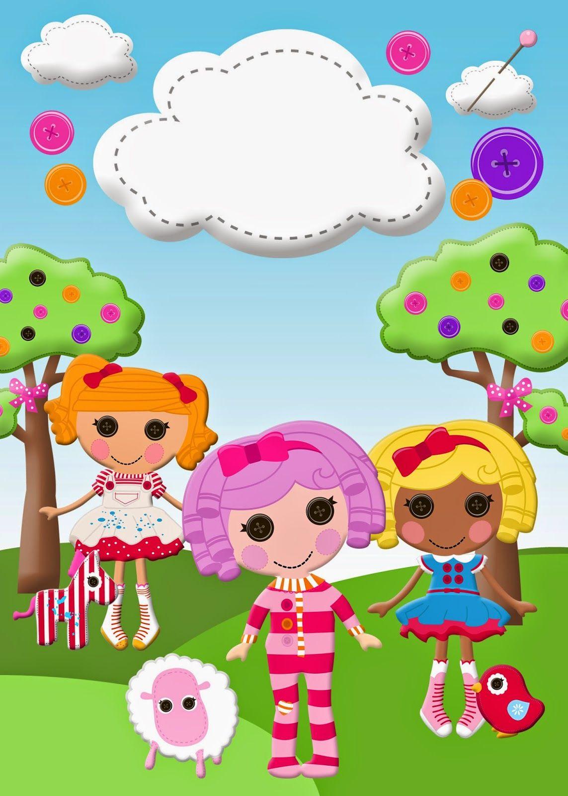 Pin by Marina on Lalaloopsy Pinterest – Lalaloopsy Birthday Invitation
