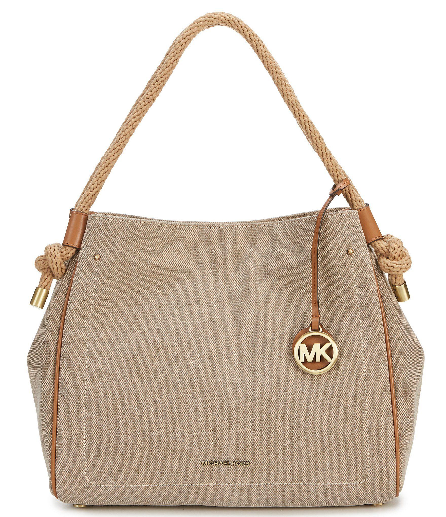 eac69d452ec4 Shop for MICHAEL Michael Kors Isla Large Washed Hemp Canvas Grab Bag at  Dillards.com. Visit Dillards.com to find clothing, accessories, shoes, ...