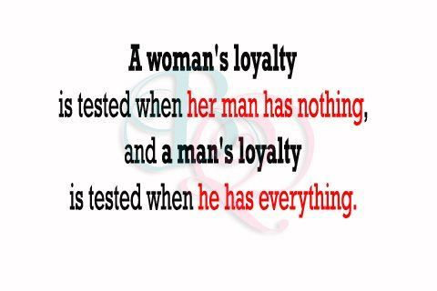 A Woman's Loyalty Is Tested