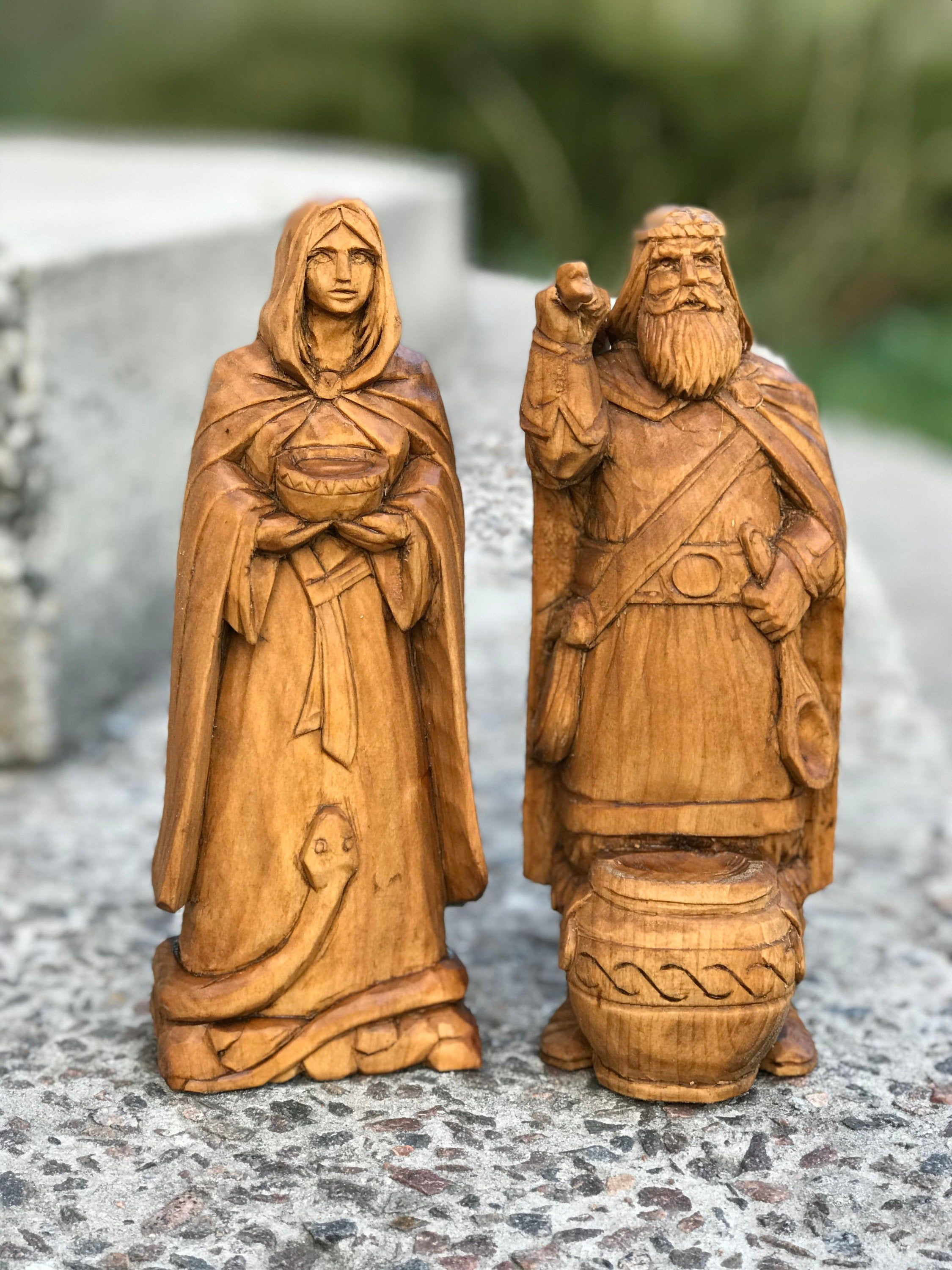 Pin on Statues of Gods and Goddesses, heathen, Norse, Asatru