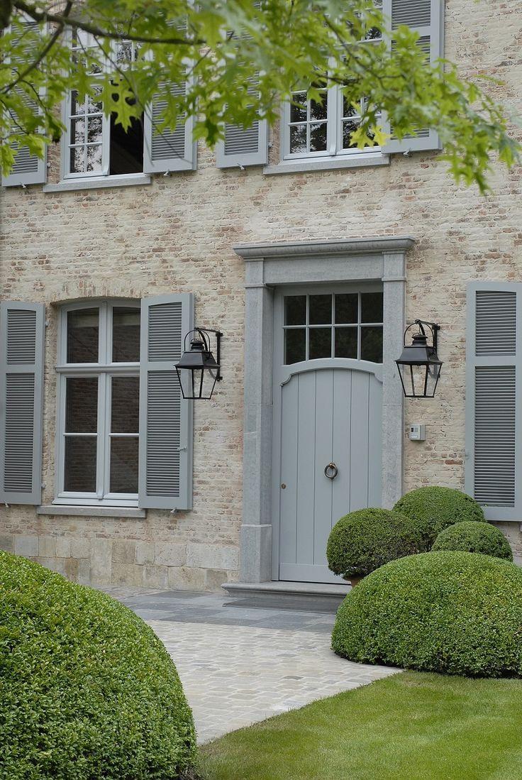 Stylish Window Shutters Shutters Exterior Exterior Doors Farmhouse Style Exterior