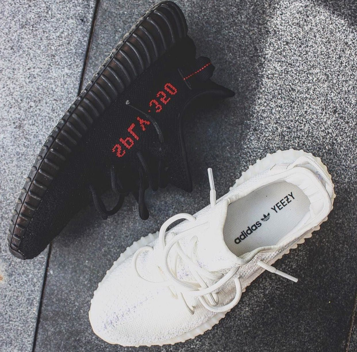 Adidas Yeezy Boost 350 V2 Bred Cream Whites With Images