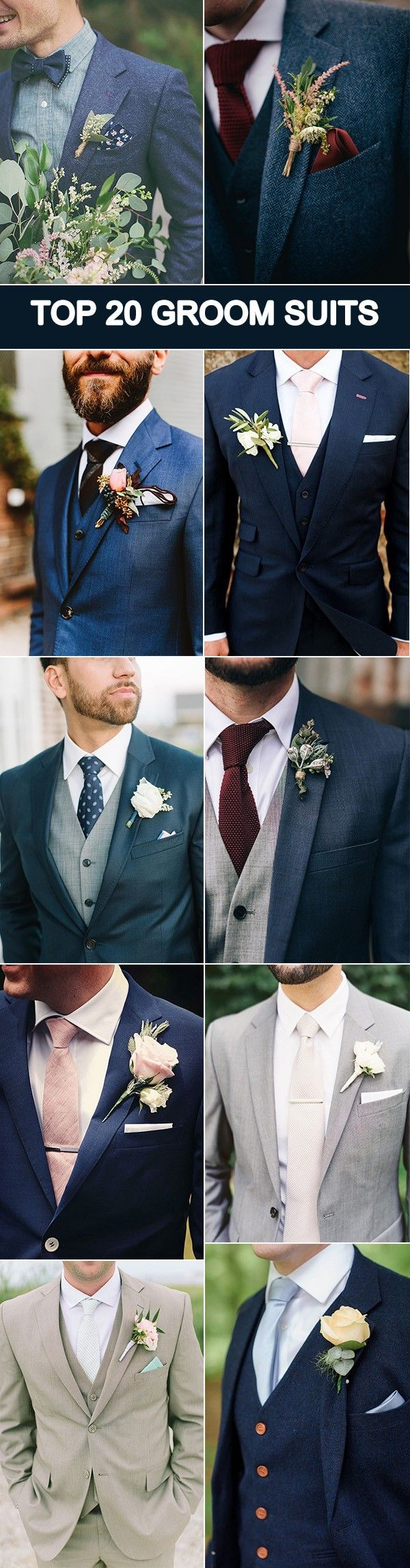 20 Popular Groom Suit Ideas for Your Big Day | Weddings, Wedding ...