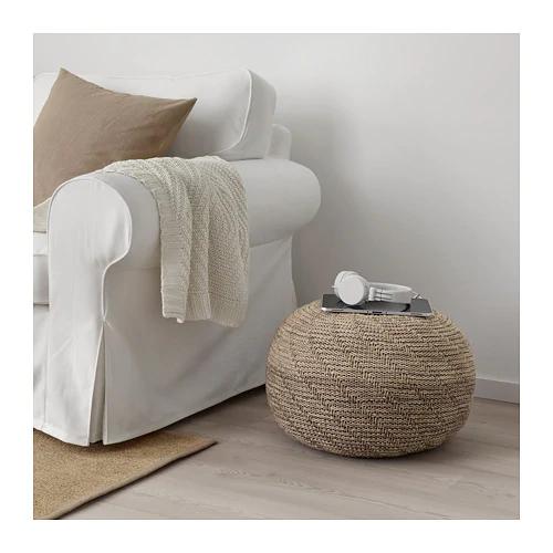 Sandared Pouffe Beige Floor Seating In 2019 Ikea