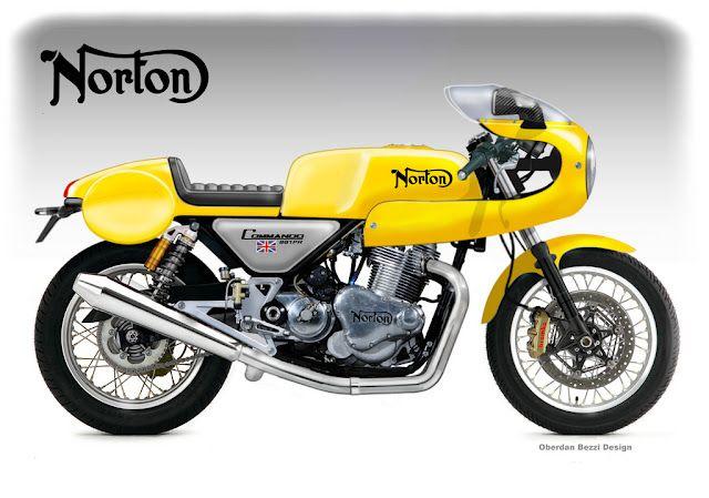 Norton Commando 961 Production Racer by Oberdan Bezzi
