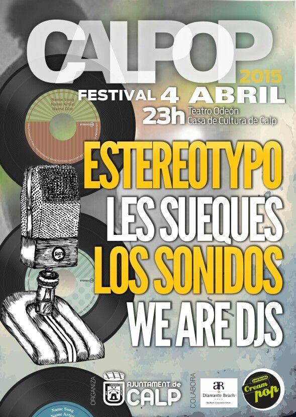 El 4 de Abril , CalPOP Festival en Calp.