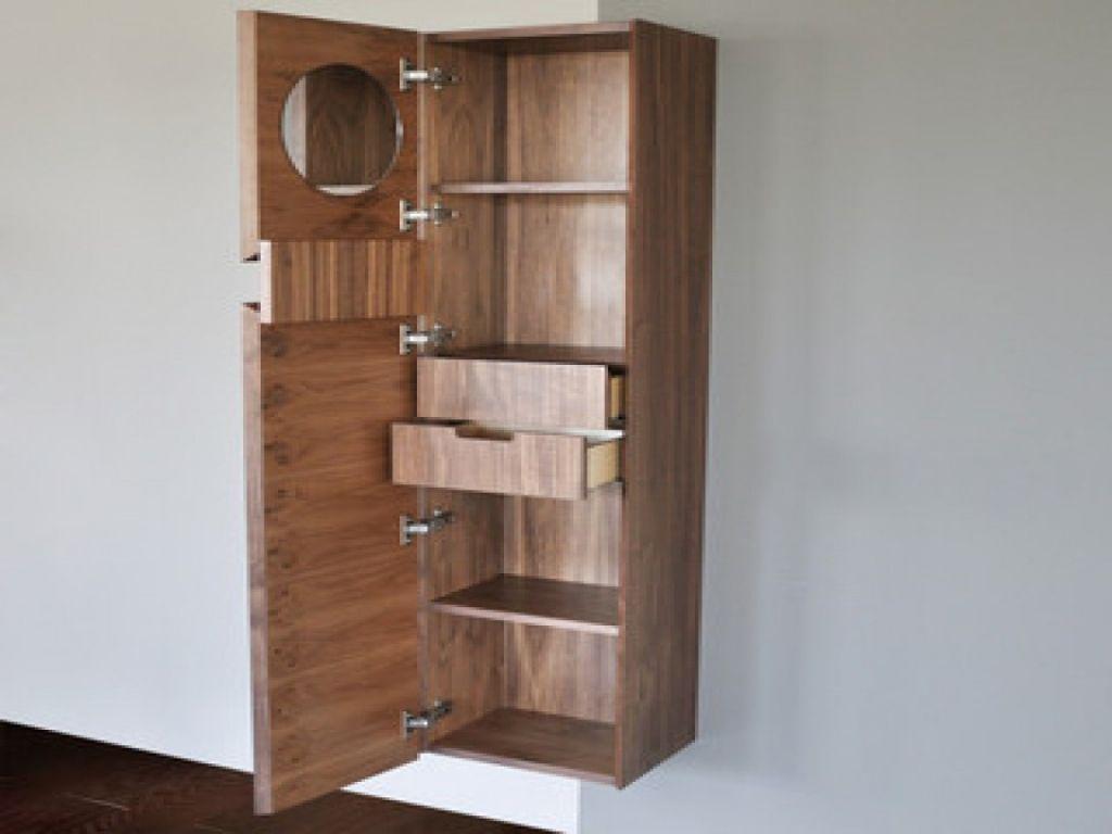 Moderne Tall Skinny Speicher Kabinette Schlafzimmerschrank