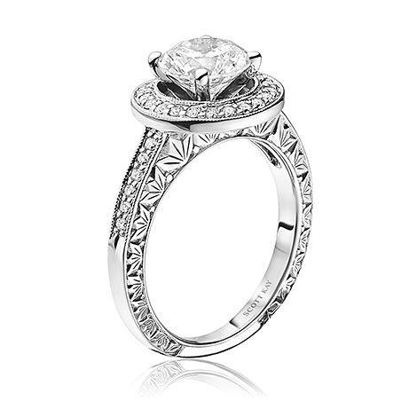 Scott Kay Luminaire Engagement Ring