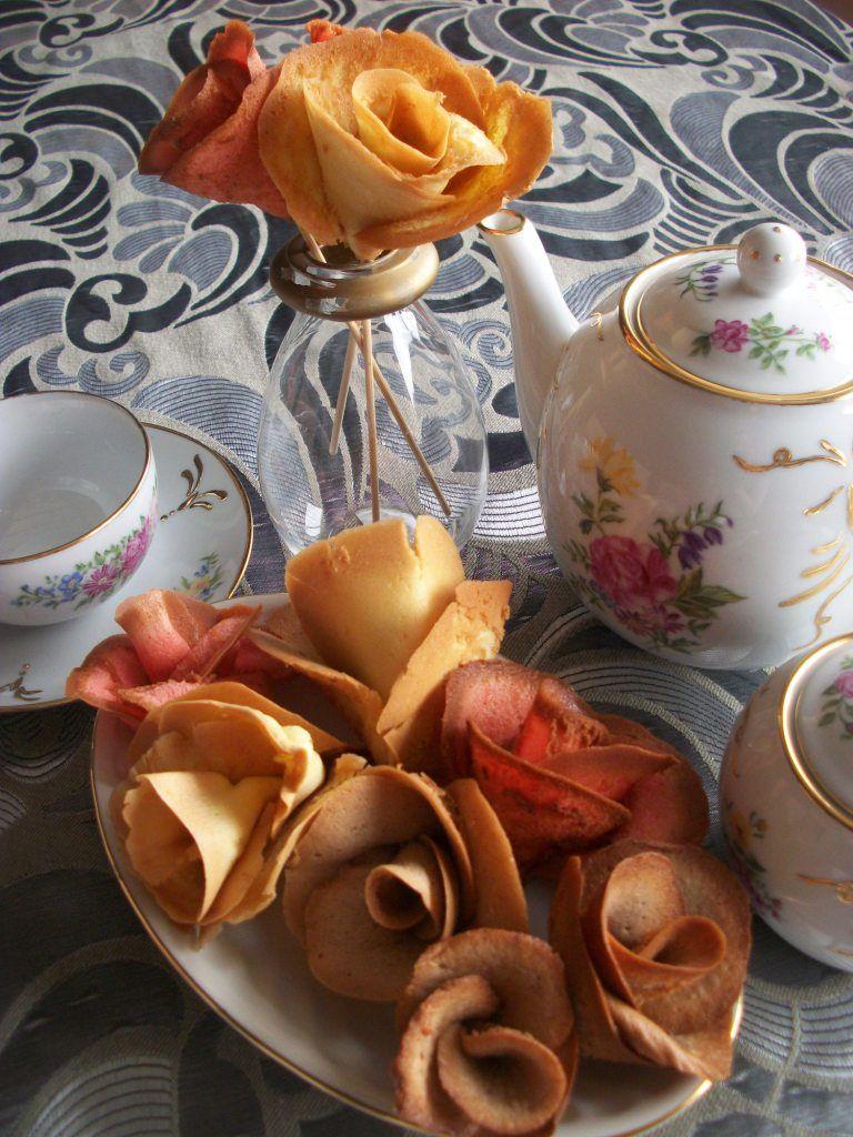 Russian roses for breakfast or mid-afternoon tea by La Cuisine de Uliana blog