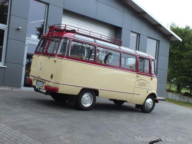 Wirtschaftswunder Mercedes : O wie Omnibus: 1966 Mercedes-Benz O 319B - Classic - Mercedes-Fans - Das Magazin für Mercedes-Benz-Enthusiasten